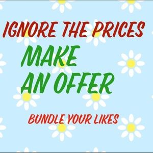 Bundle and Offer!